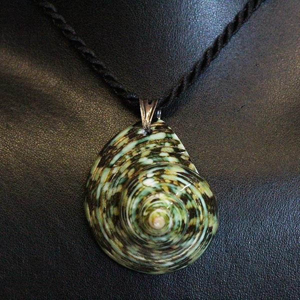 conchiglia-verde-collana